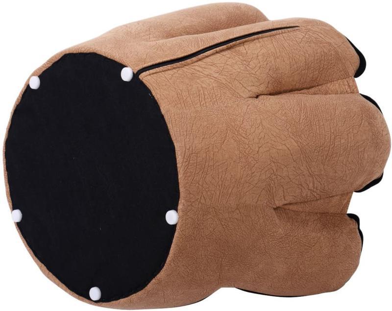 Costzon Children's Baseball Glove Chair For Kids Sturdy Wood