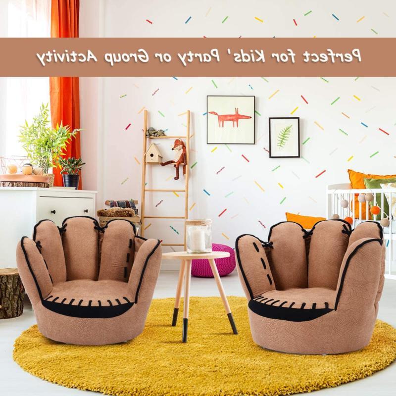 Costzon Children's Sofa Baseball Glove Chair Sturdy