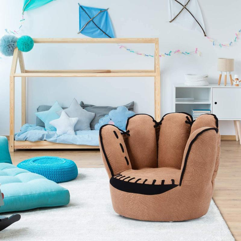 children s sofa baseball glove chair