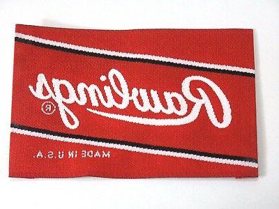 embroidered cloth baseball softball glove label patch