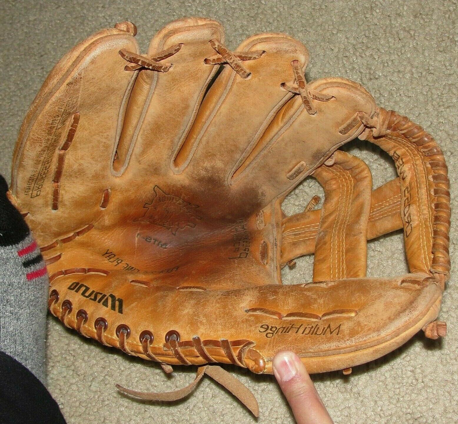 Mizuno Lite Flex JAPAN MTS-1 Baseball Glove PAT.PEND