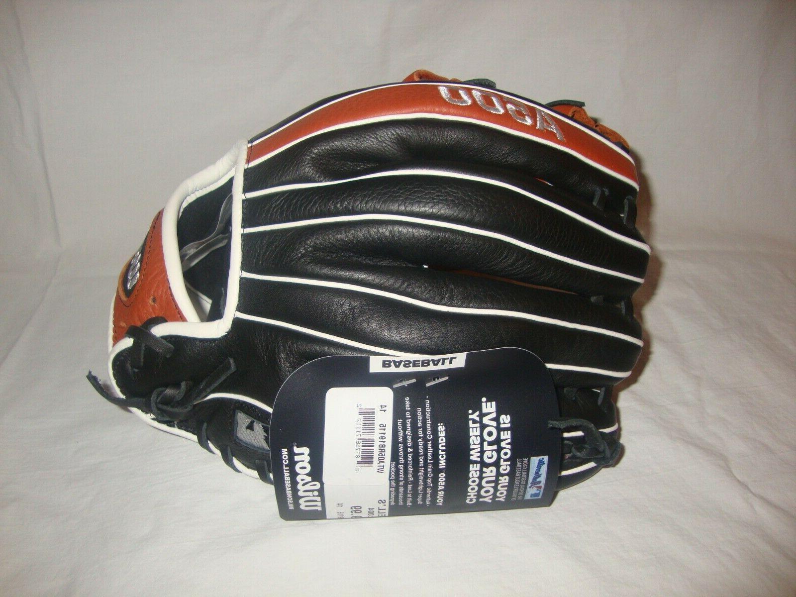 New Wilson A500 Youth Baseball WTA05RB19115 Inch Pro Padding