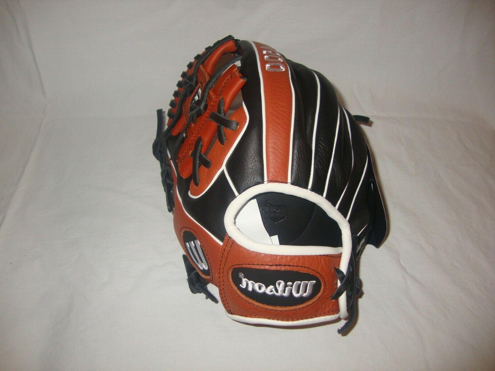 New Wilson A500 Baseball WTA05RB19115 Glove Inch Tech