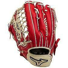 "New Other Mizuno Classic Glove GGE72 12.75"" Baseball Red/Whi"