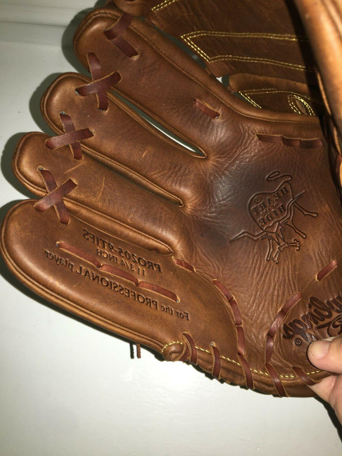 """NEW PRO205-9TIFS Heart Baseball Glove 11.75"""" SHIFT"""