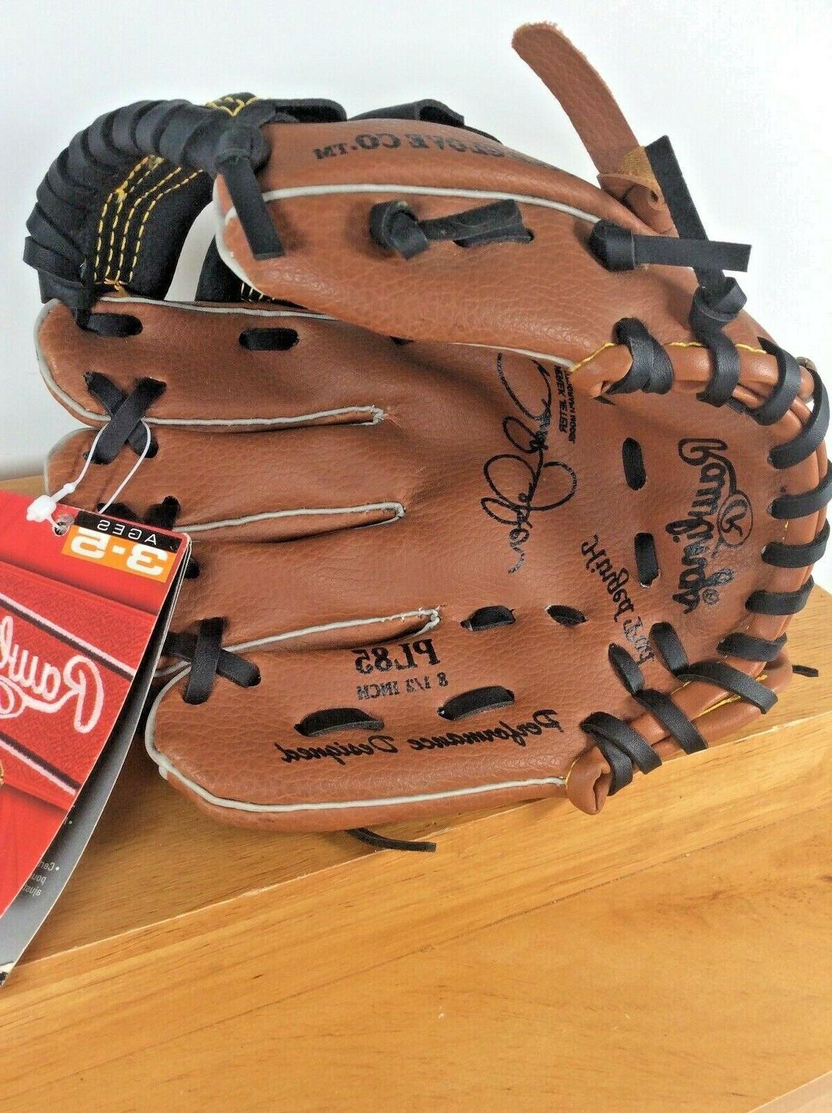 "NEW Rawlings Glove Mitt 8.5"" Brown RHThrow"
