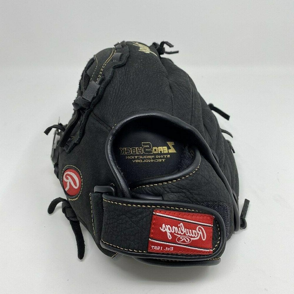 "Rawlings Baseball Glove 12"" RHT Right Hand Throw Black PS120"