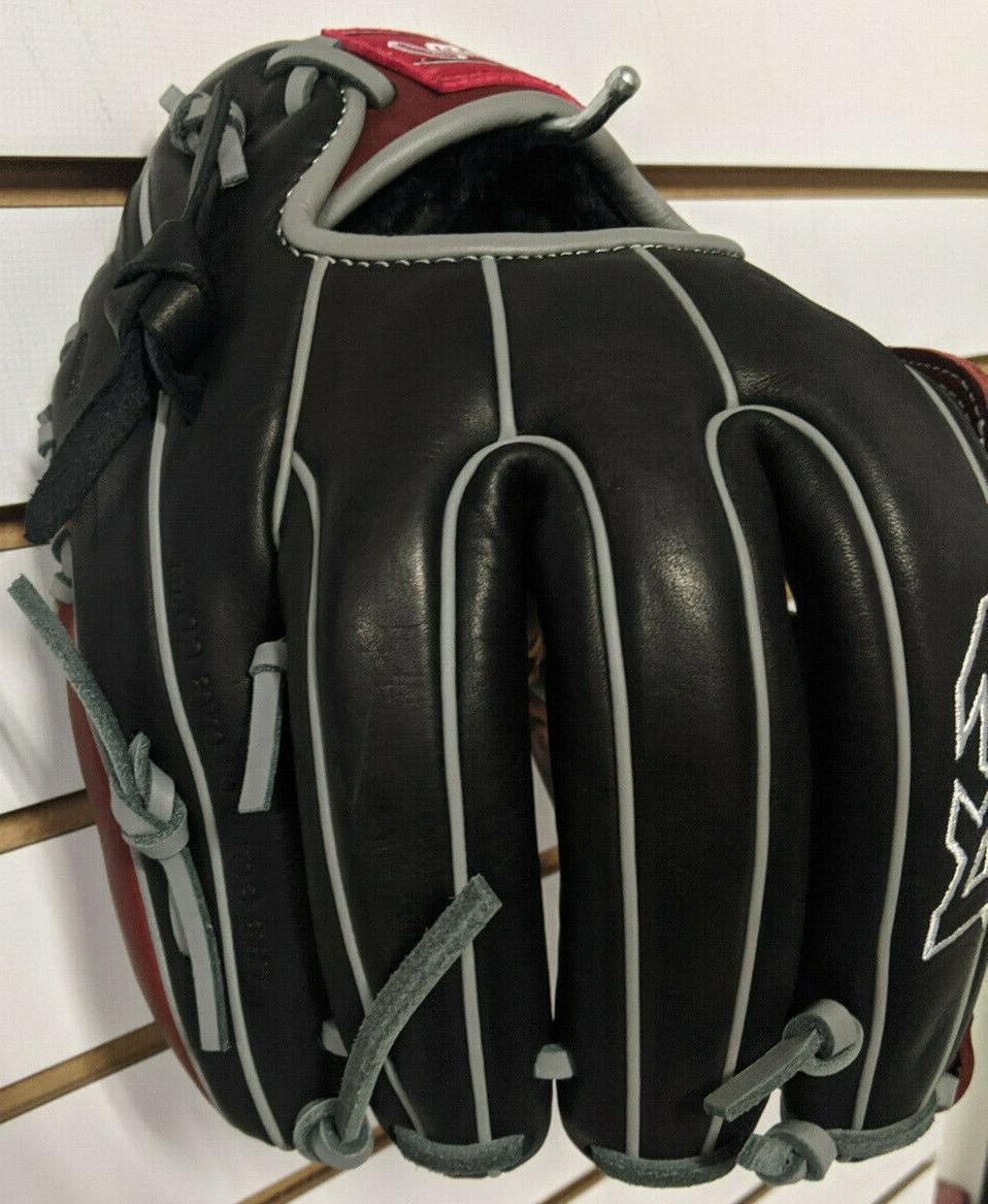 "RAWLINGS R9 Baseball glove 11.75"" Black H Web R9315-6BSG"