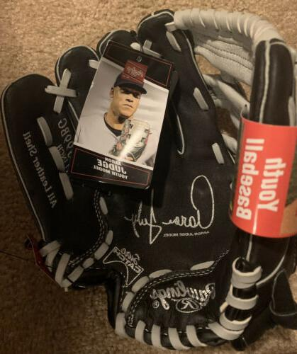 Rawlings YOUTH Judge Yankees Right 11in Leather