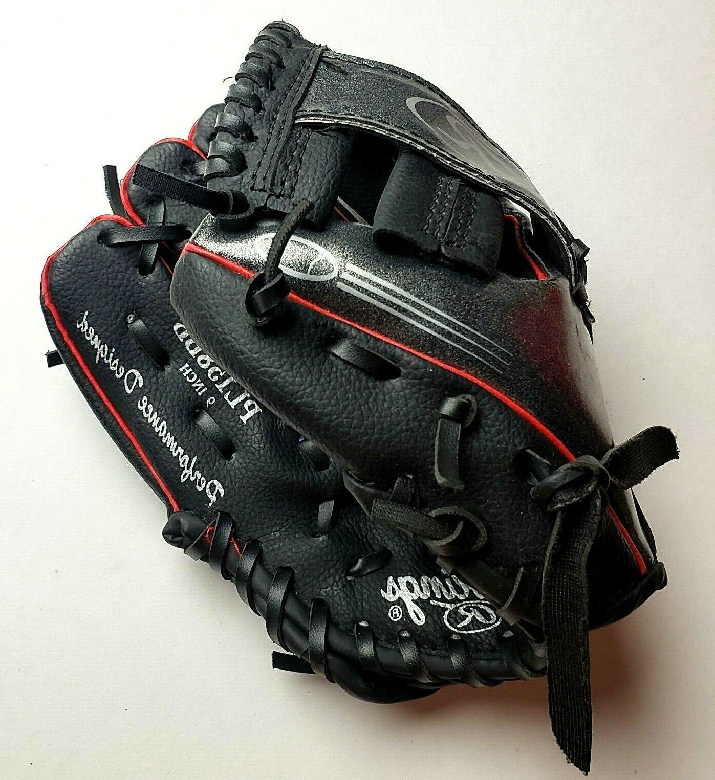 youth tball baseball glove 9 derek jeter