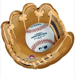 "Major League Baseball & Glove 25"" Anagram Balloon Birthday P"