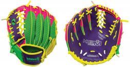 9.5 Inch Mesh Glove - Pink/Green/Purple