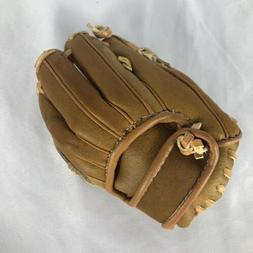 Mini Baseball Glove Business Card Holder/Genuine Brown Leath