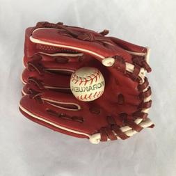 Mini Baseball Glove Business Card Holder with Mini Baseball/