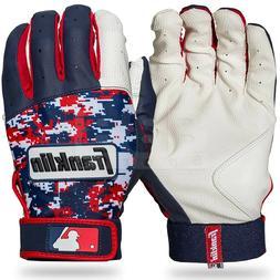 Franklin Sports MLB Baseball Digitek Batting Gloves White/Na