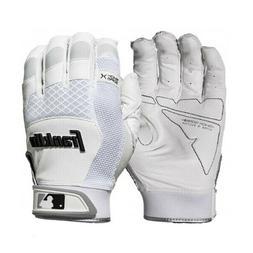 Franklin Sports MLB Shock-Sorb X Baseball Batting Glove Whit