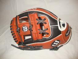 New Wilson A500 Youth Baseball WTA05RB19115 Glove 11.5 Inch