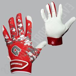 NEW Demarini Digi II Camo Baseball Batting Gloves  Youth Red