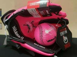 New Franklin•AirTech•Youth Baseball Glove & Foam Ball•