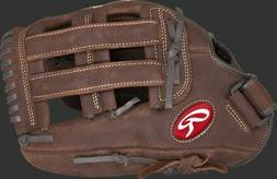 PLAYER PREFERRED ~ 13 Inch Rawlings Adult Brown Leather Base