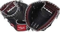 "Rawlings R9CM325BSG 32.5"" R9 Gold Glove Baseball Catchers Mi"