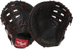 "Rawlings R9YPTFM16B 12"" R9 Gold Glove Baseball First Base Mi"