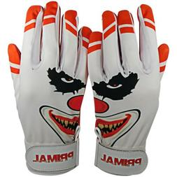"Primal Baseball's Adult Baseball Batting Gloves ""Crazy"" Size"