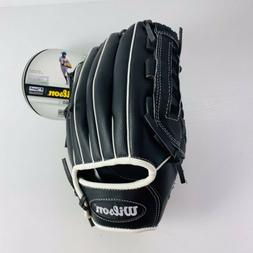 Wilson Slow Pitch Left Hand Throw Black Baseball Glove A360