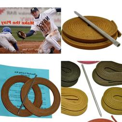 Tofl Baseball And Softball Glove Lace Kit, 2 Leather Laces,