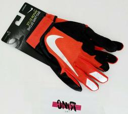 Nike Vapor Elite Baseball Batting Gloves Red Black Silver PG