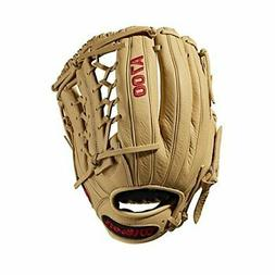 Wilson A700 Baseball Glove Series, Blonde, 12 Inch, Left