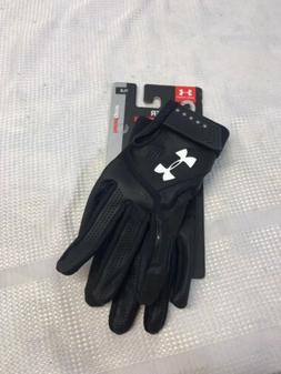 Under Armour Youth Large UA Clean Up Baseball Batting Gloves