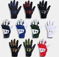 Under Armour Youth UA Clean Up 19 Baseball Batting Gloves 13